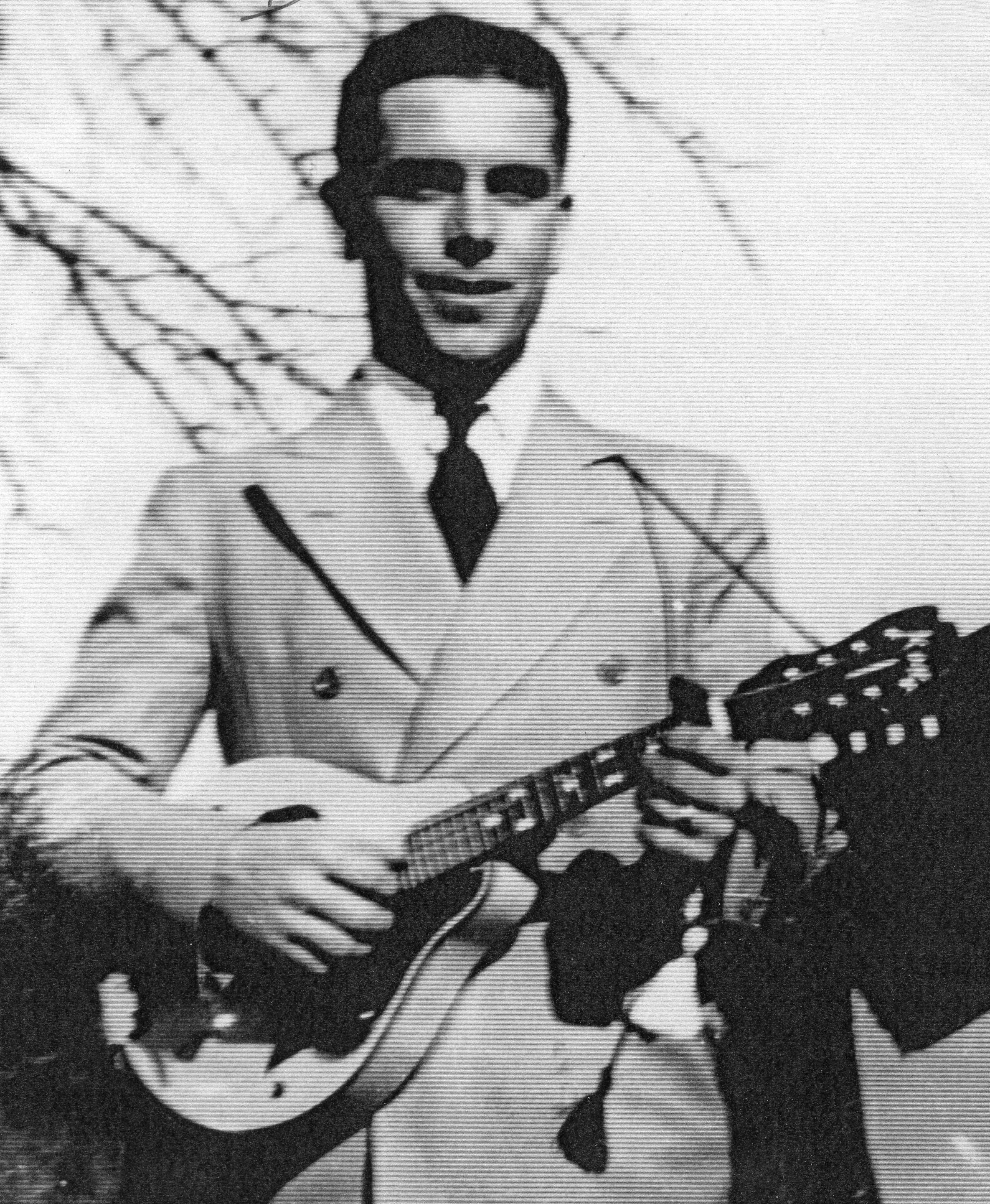 Dexter Johnson, c. 1943. (Foto venligst udlånt af Jimmy Johnson.)